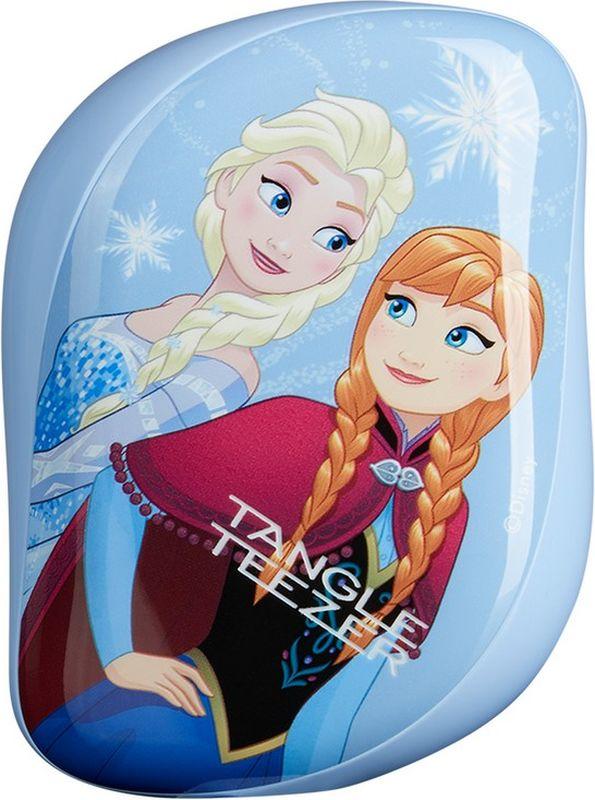 Tangle Teezer Расческа для волос Compact Styler Disney Frozen5060173370619Расчёска Tangle Teezer Compact Styler Disney Frozen создана в коллаборации с легендарной студией Disney. Расчёска украшена изображениями Эльзы и Анны из «Холодного сердца» для преданных поклонников знаменитого мультфильма. Благодаря компактной форме эта расчёска поместится в любую сумочку, а плотно прилегающая крышка защитит расчёску от пыли и повреждений. Эргономичная форма позволяет легко расчёсывать как сухие, так и влажные волосы. Благодаря уникальному строению зубчиков, расчёска мягко скользит по волосам, не повреждая и не травмируя их. После использования расчёски волосы приобретают здоровый вид и блеск, становясь гладкими и шелковистыми.