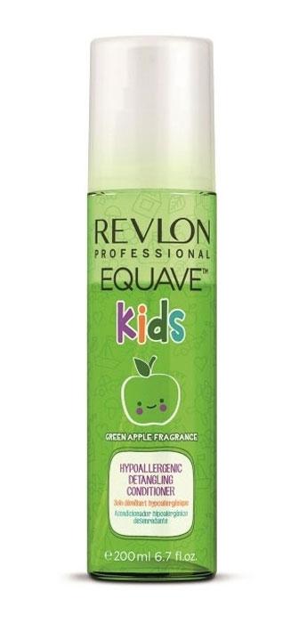 Revlon Professional 2-х фазный кондиционер для детей Equave Kids 200 мл7206076000Двухфазный кондиционер Equave AD разработан специально для детских волос, которым нуженособенный уход и защита. Кондиционер препятствует разрушительному воздействию свободныхрадикалов на структуру волосяных волокон, делает легкой процедуру расчесывания, питает иувлажняет волосы, обладает восстановительным и защитным механизмом. Волосы Ваших детейвсегда будут здоровыми и сияющими, если за ними ухаживает кондиционер Equave AD Кондиционер содержит пшеничные аминокислоты, которые укрепляют волосяной покров ипредохраняют его от ломкости, силикон, придающий влагостойкость и блеск, антиоксидантыприродного происхождения экстрагированные компоненты розмарина и ромашки. Двойной УФ- фильтр предохраняет волосы Вашего ребенка от прямого воздействия солнечного излучения.Входящий в состав кондиционера аромат цитрусовых и общая сбалансированность егокомпонентов, оказывает мягкое воздействие и не вызывает слез при использовании.Уважаемые клиенты! Обращаем ваше внимание на то, что упаковка может иметь несколько видовдизайна.Поставка осуществляется в зависимости от наличия на складе.