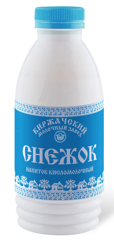 Киржачский МЗ Снежок кисломолочный напиток, 1,5%, 500 г пудовъ сладкий кукурузный хлеб 500 г
