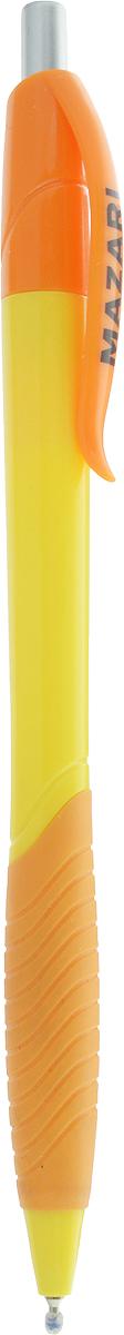 Mazari Ручка шариковая Grada цвет оранжевый желтый фонарь maglite 2d синий 25 см в картонной коробке 947191