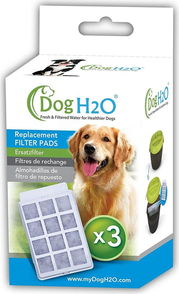 Сменные угольные фильтры Feed-Ex, для поилок CatH2O и DogH2O, 3 шт page petkit носить маленькие животное питьевых фонтанчиков для интеллектуального фильтра листа 3