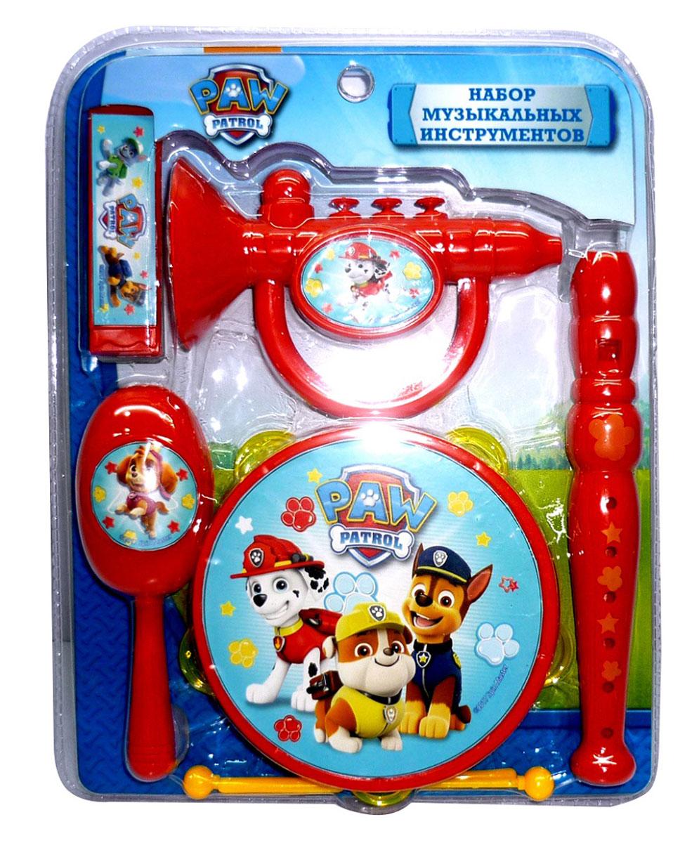 Paw Patrol Набор музыкальных инструментов 7 предметов музыкальные игрушки стеллар дудочка