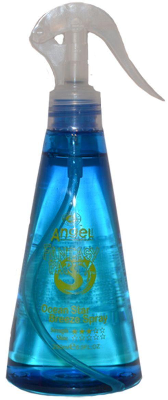 Angel Professional Спрей Бриз Океанской звезды, 250 млAS-301Cодержит эссенцию морских водорослей, создает хорошую плотность и наполненность волос. Придает объем и упругость волосам, великолепно выглаживает поверхность и придает блеск. Универсальный спрей для всех типов волос, максимально идеален для вьющейся структуры. Наполняет волосы свежим морским бризом