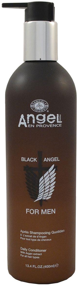 Angel Men Кондиционер ежедневный, 400 млMAN-04Наш кондиционер для ежедневого использования был специально разработан для снятия раздражения с кожи головы. В его состав входит эфирное масло мяты перечной, мгновенно восстанавливающее защитный покров кожи, а так же экстракт периллы базиликовой и витамин Е, обеспечивающие увлажнение и мгновенную гладкость. При частом использовании ваши волосы будут всегда оставаться здоровыми и блестящими.