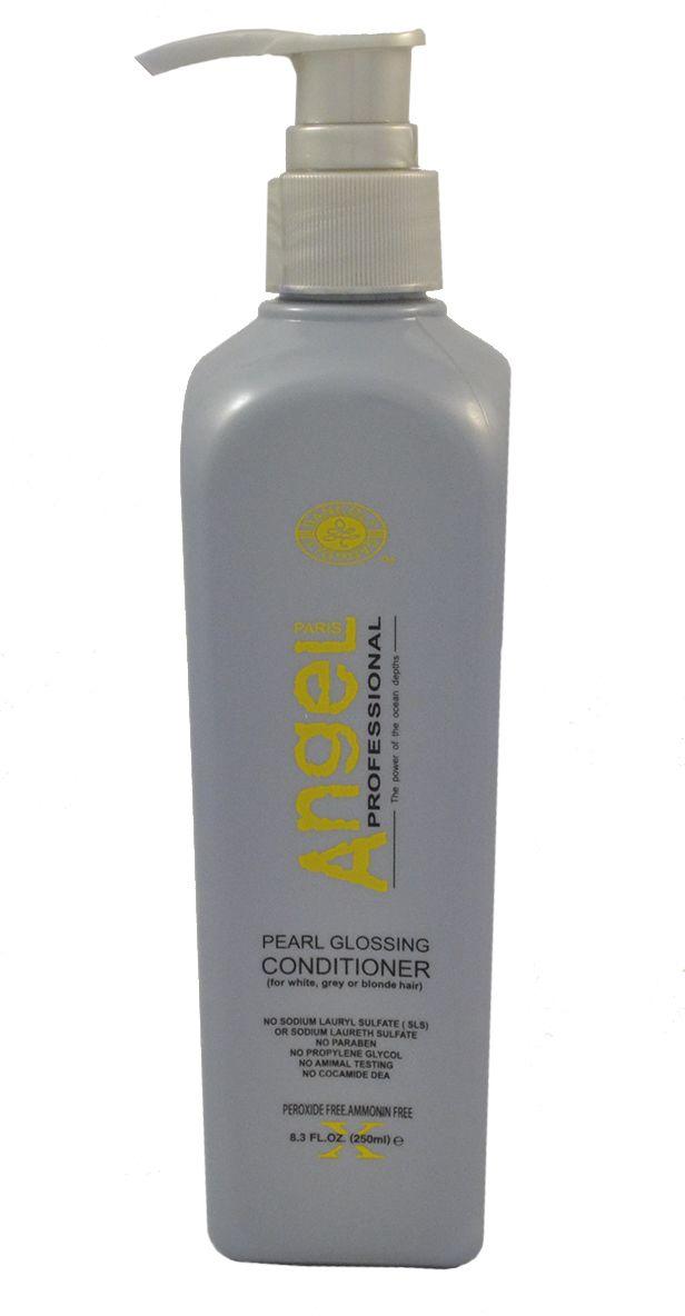 Angel professional Синий кондиционер для холодных оттенков блонд, 250 млА-209-1Кондиционер для светлых, обесцвеченных, мелированных или седых волос. Содержит синие пигменты, которые освежают цвет волос, обновляют мелированные волосы и нейтрализуют нежелательные желтые оттенки на волосах.