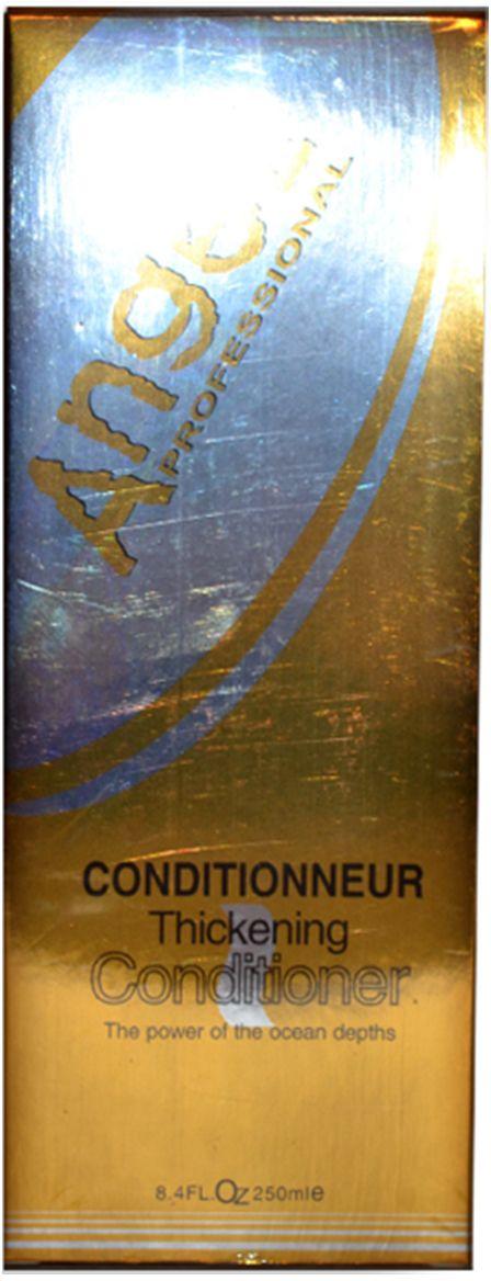 Angel Professional Кондиционер для густоты и объема, 250 млА-305Увеличивает объем и густоту волос, предотвращает спутывание и добавляет волосам блеск. Антиоксиданты защищают ваши волосы от неблагоприятных условий внешней среды, ваши волосы сияют здоровьем. Экстракт морских водорослей и аминокислоты придают эластичность и гладкость , не перегружая даже самые тонкие и хрупкие волосы. Эластин и целлюлоза создает легкий, но прочный прикорневой каркас, обеспечивая волосам объем на целый день.