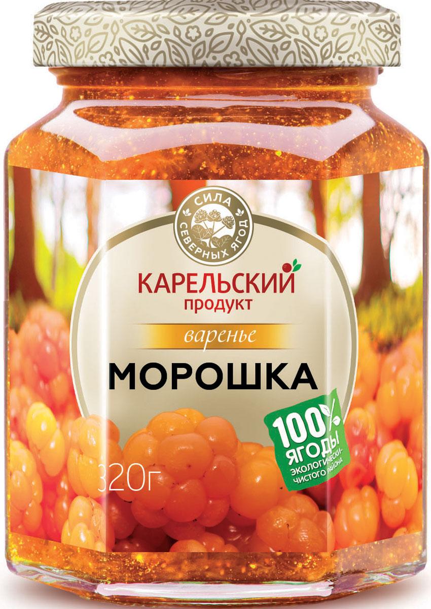 Карельский продукт Варенье из морошки, 320 г arma варенье из белой черешни 300 г