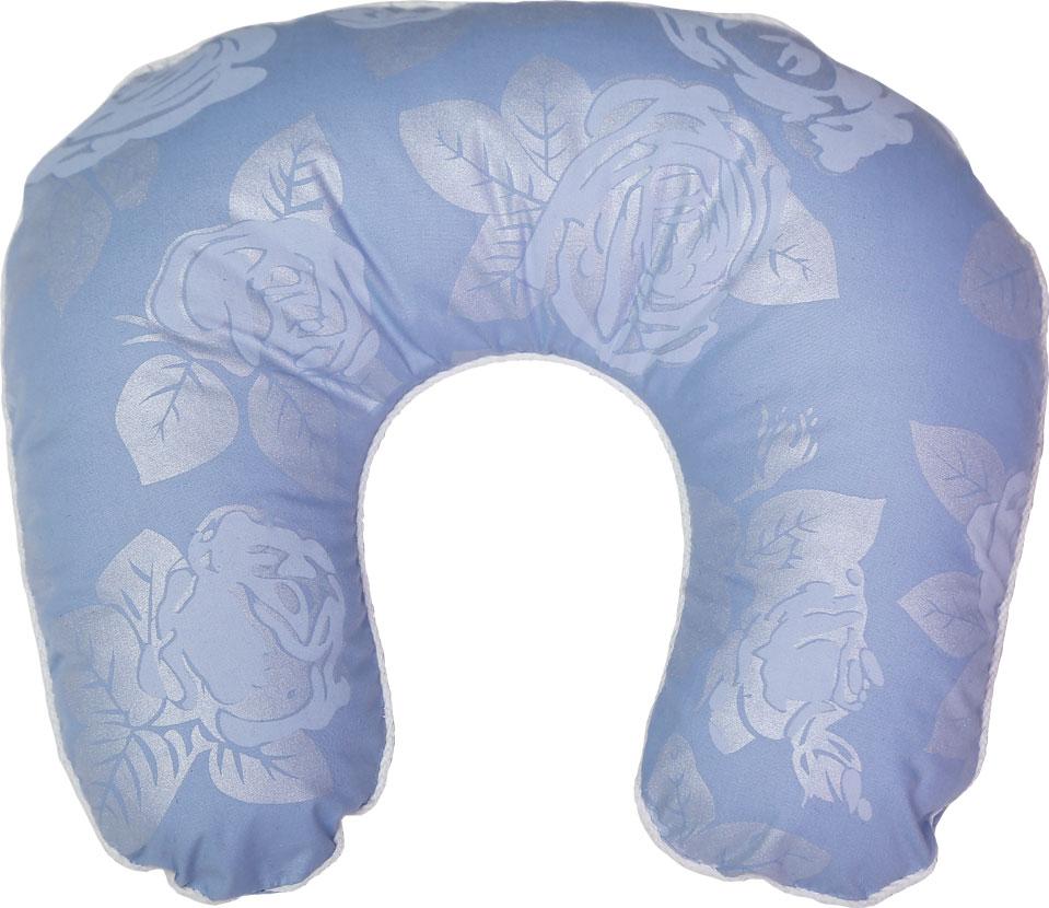 Подушка ортопедическая Bio-Textiles Подкова, наполнитель: лузга гречихи, цвет: голубой, 40 х 40 см. F193F193Подушка Подкова незаменима при длительных поездках или перелетах. Она снимаетнапряжение, учитывая анатомо-физиологические особенности шейного отдела позвоночника. Также обеспечивает во время сна мягкую опору головы, массажное воздействие на мышцы шейногоотдела позвонка и их релаксацию.