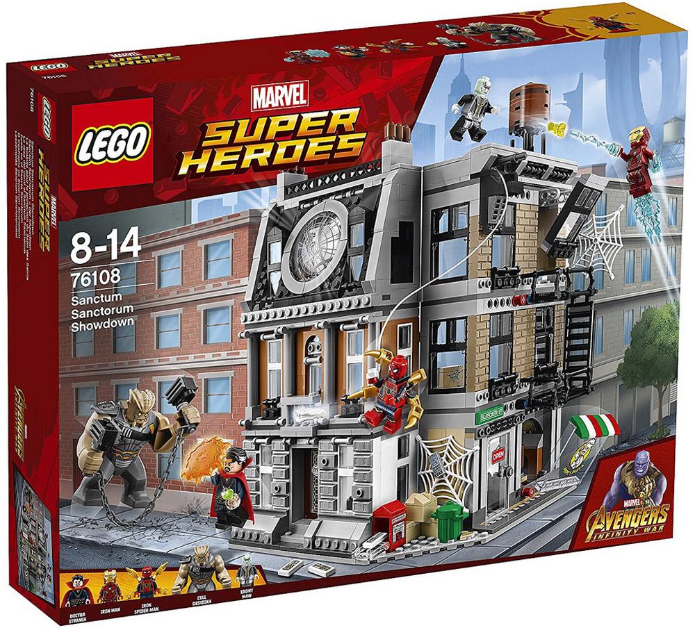 LEGO Super Heroes Конструктор Решающий бой в Санктум Санкторум 76108 конструктор lego super heroes spiderman в ловушке доктора осьминога 76059