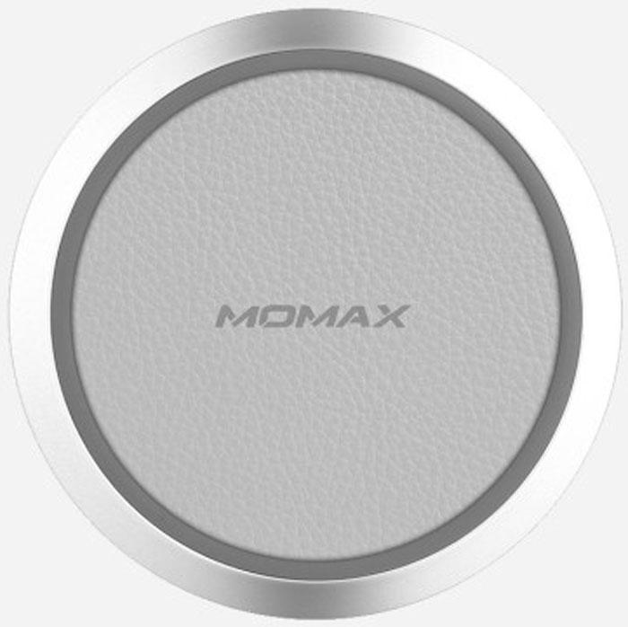 Momax Q.Pad Wireless Charger, White беспроводное зарядное устройствоUD3WMomax Q.Pad Wireless Charger - это беспроводное зарядное устройство, которое представляет собой небольшую округлую платформу. Элегантная и удобная платформа осуществляет подзарядку мобильных устройств посредством создаваемого электрического поля. С Momax Q.Pad Wireless Charger у вас нет необходимости втыкать штекер в смартфон. Процесс подзарядки происходит просто - достаточно поместить мобильное устройство на платформу. Momax Q.Pad Wireless Charger имеет внутреннее кольцо, которое удерживает смартфон на поверхности, не давая ему соскользнуть.