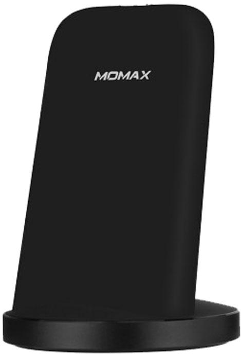 Momax Q.Dock 2 Wireless Charger, Black беспроводное зарядное устройство momax apple 8 x беспроводное зарядное устройство iphone8 8plus x беспроводное зарядное устройство qi wireless quick charging base black