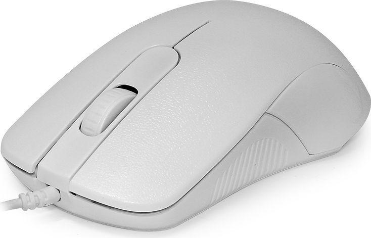 CBR CM 105 White, мышьCM 105 WhiteCBR CM 105 - недорогое и практичное решение для офисов и работы с документами. Выполненная в максимальнопростом стиле, она обеспечивает высокий уровень точности указателя в 1200 dpi. Симметричный корпус подходити правшам, и левшам. Мышь CBR CM 105 подключается по USB и полностью соответствует требованиям стандарта Plug and Play. Дляустановки не нужны драйверы - достаточно найти разъем и приступить к работе. Модель поддерживается всемисовременными операционными системами.