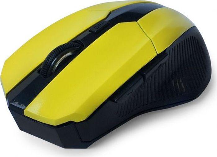 CBR CM-547, Yellow мышь беспроводнаяCM 547 YellowБеспроводная оптическая мышь CBR CM 547 не оставит равнодушными поклонников технологичности и четких геометрических форм. Устройство заключено в среднеразмерный корпус, адаптированный для правой руки. Боковые вставки имеют рифление, помогающее уверенно держать мышь. Манипулятор оснащен 5 кнопками, которым можно назначить 20 пользовательских функций при помощи с диска с фирменным программным обеспечением.Среди настроек - уникальное решение, привязывающее на боковые клавиши функции копировать/вставить. Настоящей изюминкой устройства является мощный профессиональный сенсор, который позволяет установить разрешение от 1200 до 2400 dpi. При этом точность позиционирования курсора будет позволять решать сложные задачи в графическом дизайне или участвовать в кибер-спортивных соревнованиях.