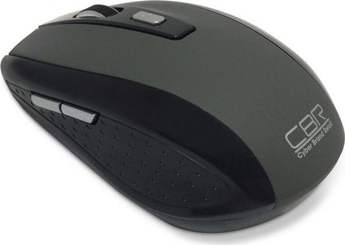 CBR CM 560, Black мышь беспроводнаяCM 560Беспроводная оптическая мышь CBR CM 560 предназначена специально для пользователей ценящих комфорт и функциональность. Во-первых, с помощью удобного меню настройки вы можете самостоятельно выбрать, какую функцию назначить на боковые клавиши мыши. Самая популярная - присвоение боковым кнопкам значения Копировать/Вставить. Во-вторых, специальная кнопка, расположенная на корпусе мыши позволяет выбрать наиболее комфортное разрешение сенсора: 1000 или 1600 dpi. В-третьих, в этой модели мыши предусмотрен компактный USB-приемник, который при транспортировке можно удобно разместить в специальном разъеме, на тыльной стороне корпуса. В-четвертых, батарейки теперь можно менять реже, ведь CBR CM 560 оснащена современной системой энергосбережения.