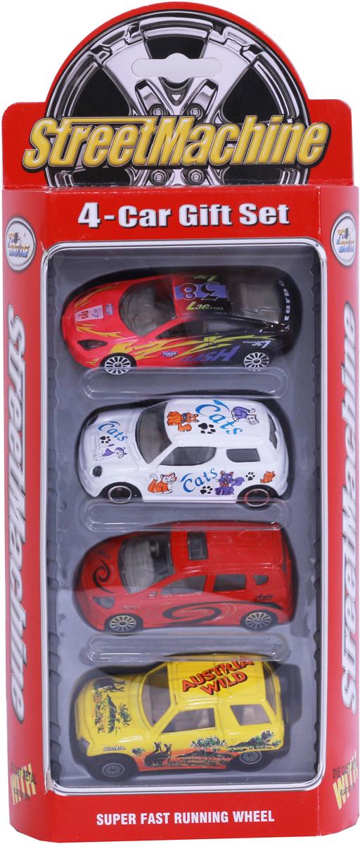 Pioneer Toys Набор машин 4 шт pioneer toys набор машин фура