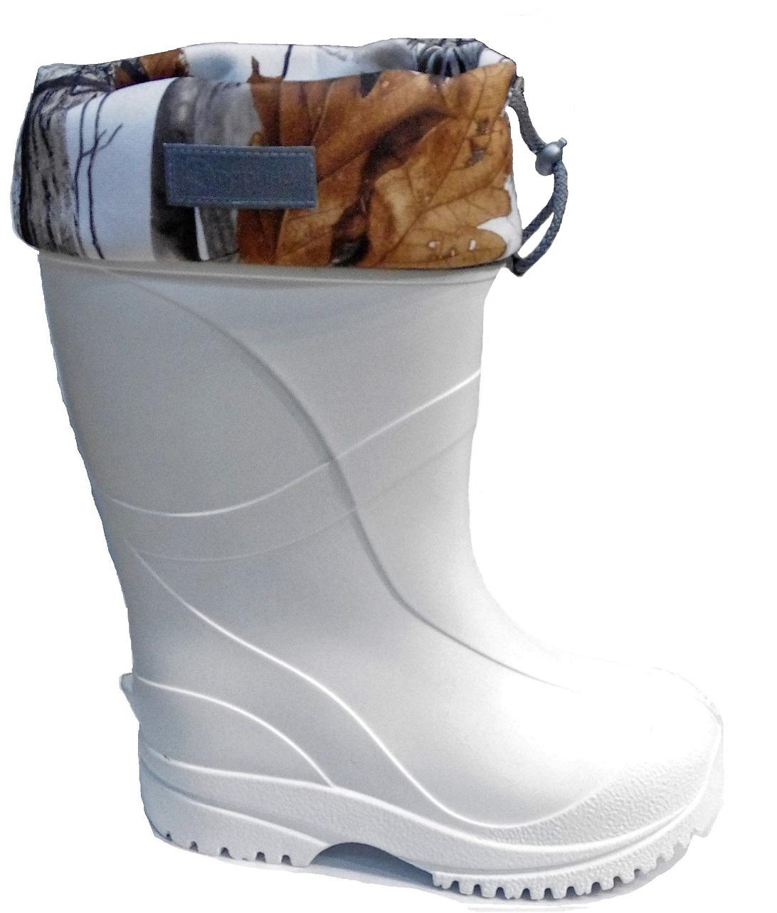 Сапоги зимние мужские Дарина Иваныч, цвет: белый. Размер 44-45. УТ000026874Д343-НУIce land/44-45белСапоги мужские зимние ЭВА Иваныч выдержат морозы до -60С.Сверхпрочный износостойкий материал Step создаёт надёжный барьер от холода. Трикотажное полотно с гидрофобными волокнами помогает ногам оставаться сухими. Натуральный мех дарит комфорт и защищает от мороза. Мембранная сетка позволяет ногам дышать и не пропускает влагу внутрь. Металлизированная фольга отражает холод и сохраняет тепло.