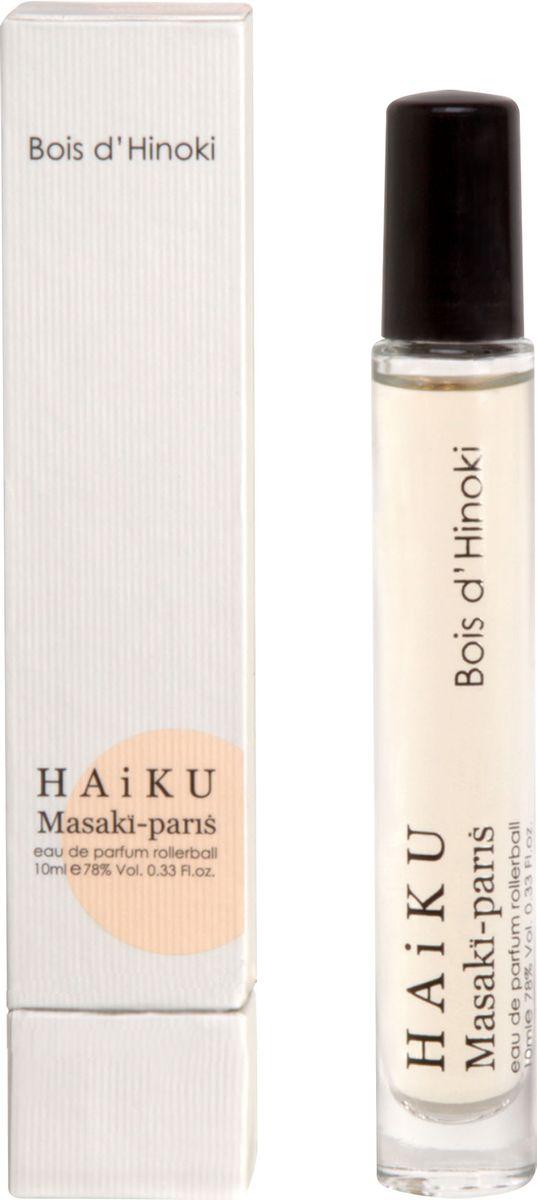 Masaki Matsushima Парфюмерная вода женская Haiku Bois D'Hinoki, 10 мл masaki matsushima aqua mat earth