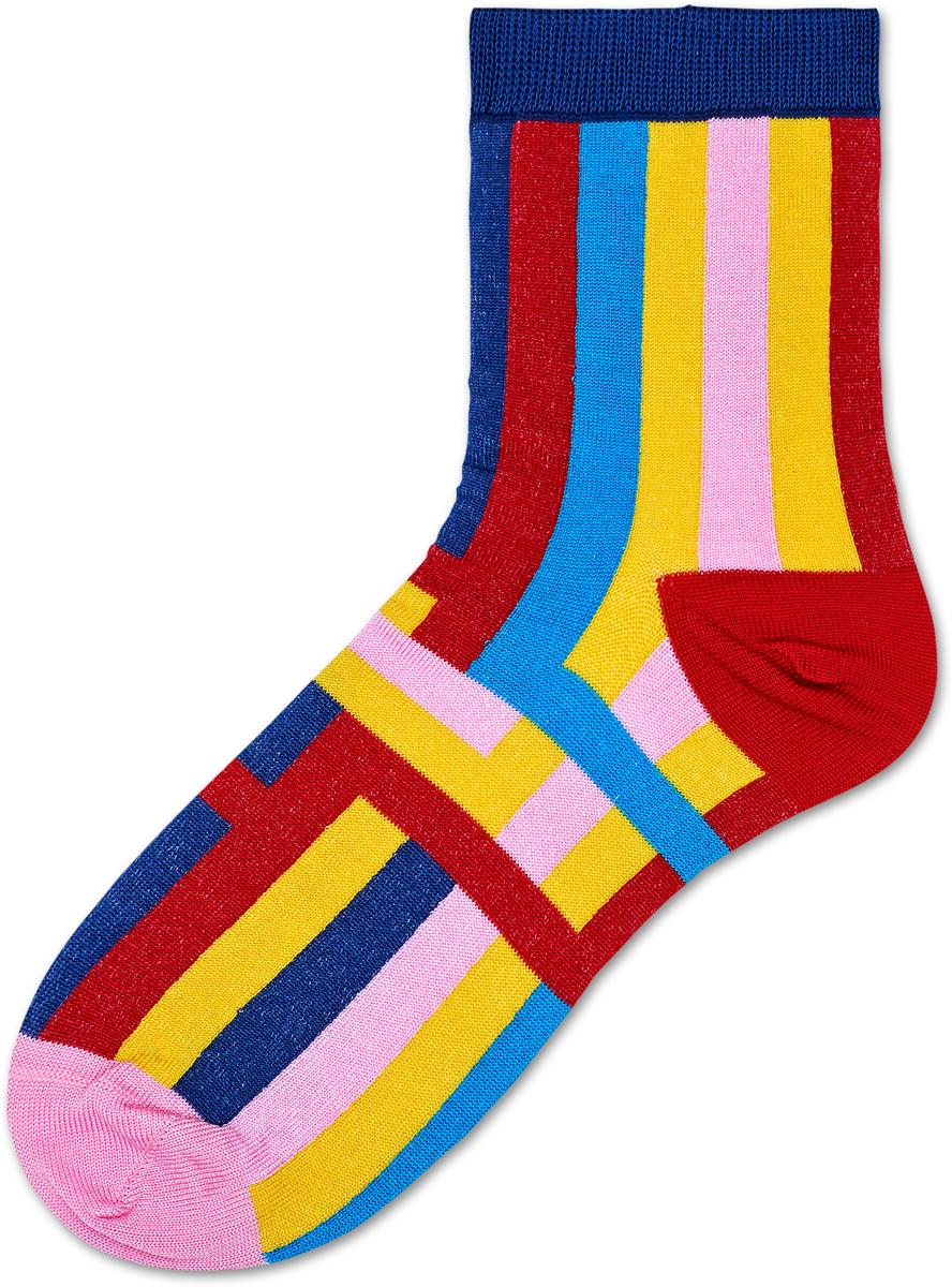 Носки женские Happy Socks Mira Ankle, цвет: мультиколор. SISMIR12_4000. Размер 25,5 (36/41)SISMIR12_4000Носки от Happy Socks, изготовленные из высококачественного материала, дополнены принтом. Эластичная резинка плотно облегает ногу, не сдавливая ее. Усиленная пятка и мысок обеспечивают надежность и долговечность.