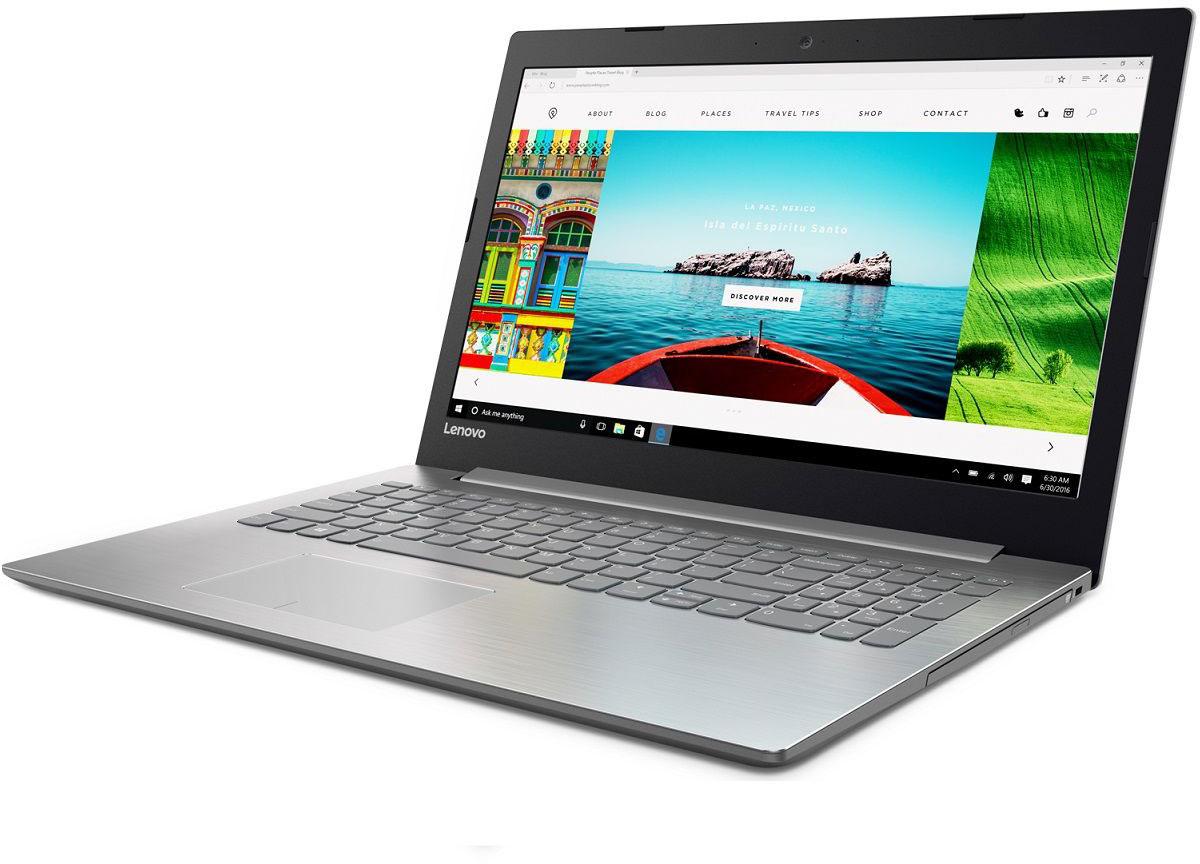 Lenovo IdeaPad 320-15IKBN, Grey (80XL03MYRK)80XL03MYRKIdeaPad 320-15IKBN 15.6 FHD(1920x1080) nonGLARE/Intel Core i3-7100U 2.40GHz Dual/4GB/1TB+128GB SSD/GF 940MX 2GB/noDVD/WiFi/BT4.0/0.3MP/4in1/2cell/2.20kg/W10/1Y/GREY