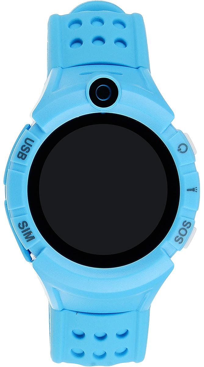 TipTop 600ЦФС, Light Blue детские часы-телефон532Детские умные часы-телефон TipTop с GPS – трекером созданы специально для детей и их родителей. С ними Вы всегда будете знать, где находится Ваш ребенок и что рядом с ним происходит. Модель 600ЦФС имеет лучший функционал в своей ценовой категории и спортивный дизайн. Преимущества данной модели: фонарик, камера, датчик снятия с руки, Wifi - для более точного определения местоположения в помещении.Как они работают и какие имеют преимущества?Управление часами происходит полностью через мобильное приложение, которое можно бесплатно скачать на AppStore или PlayMarket.Основные функции: 1. Родители с помощью мобильного приложения всегда видят на карте где находится их ребенок. 2. В часы вставляется сим - карта. Родители всегда могут позвонить на часы, также ребенок может позвонить с часов на 3 самых важных номера - мама, папа, бабушка. Также можно разрешать или запрещать номерам звонить на часы, например внести в список разрешенных звонков только номера телефонов близких и родных. 3. Родители могут слушать, что происходит рядом с ребенком - как няня обращается с ребенком, как ребенок отвечает на уроках и др. 4. На часах есть кнопка SOS - в случае опасности ребенок нажимает на эту кнопку и часы автоматически дозваниваются на все 3 номера - кто быстрее ответит. Также высылают сообщение родителям с координатами ребенка. 5. Датчик снятия с руки - если ребенок снимет часы, то автоматически на телефон родителя придет уведомление. Также приходят уведомления, если часы разряжены. 6. Возможность установить гео-забор - зону, за которую ребенку не следует выходить. Если ребенок вышел - приходит уведомление на телефон. 7. Фитнес-трекер – шагомер, пройденное расстояние, качество сна, потраченное количество калорий. И много других интересных и полезных функций!В каком возрасте ребенку особенно необходимы часы TipTop с функцией GPS? • Когда ребенок начинает ходить Уже с этого момента возникает опасность, что он может потеряться в многолюдн