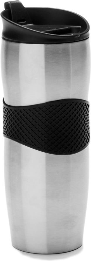 Термокружка Mayer & Boch, 420 мл. 26977, цвет: серебристый, черный, 420 мл. 2697726977Термокружка Mayer & Boch изготовлена из нержавеющей стали, не содержащей токсичных веществ. Двойные стенки дольше сохраняют напиток горячим и не обжигают руки. Надежная крышка с защитой от проливания обеспечит дополнительную безопасность. Крышка оснащена клапаном для питья. Основание имеет силиконовую вставку для предотвращения скольжения по поверхности. Оптимальный объем термокружки позволит взять с собой большую порцию горячего кофе или чая. Идеально подходит как для горячих, так и для холодных напитков. Такая кружка может быть использована во время отдыха, на работе, в путешествии, во время поездок в автомобиле.