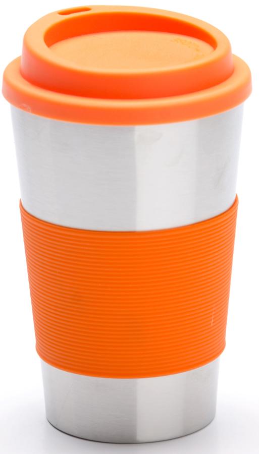 Термокружка Mayer & Boch, 340 мл. 26983, цвет: серебристый, оранжевый, 340 мл. 2698326983Термокружка Mayer & Boch изготовлена из нержавеющей стали, не содержащей токсичных веществ. Двойные стенки дольше сохраняют напиток горячим и не обжигают руки. Надежная крышка с защитой от проливания обеспечит дополнительную безопасность. Крышка оснащена клапаном для питья. Основание имеет силиконовую вставку для предотвращения скольжения по поверхности. Оптимальный объем термокружки позволит взять с собой большую порцию горячего кофе или чая. Идеально подходит как для горячих, так и для холодных напитков. Такая кружка может быть использована во время отдыха, на работе, в путешествии, во время поездок в автомобиле.