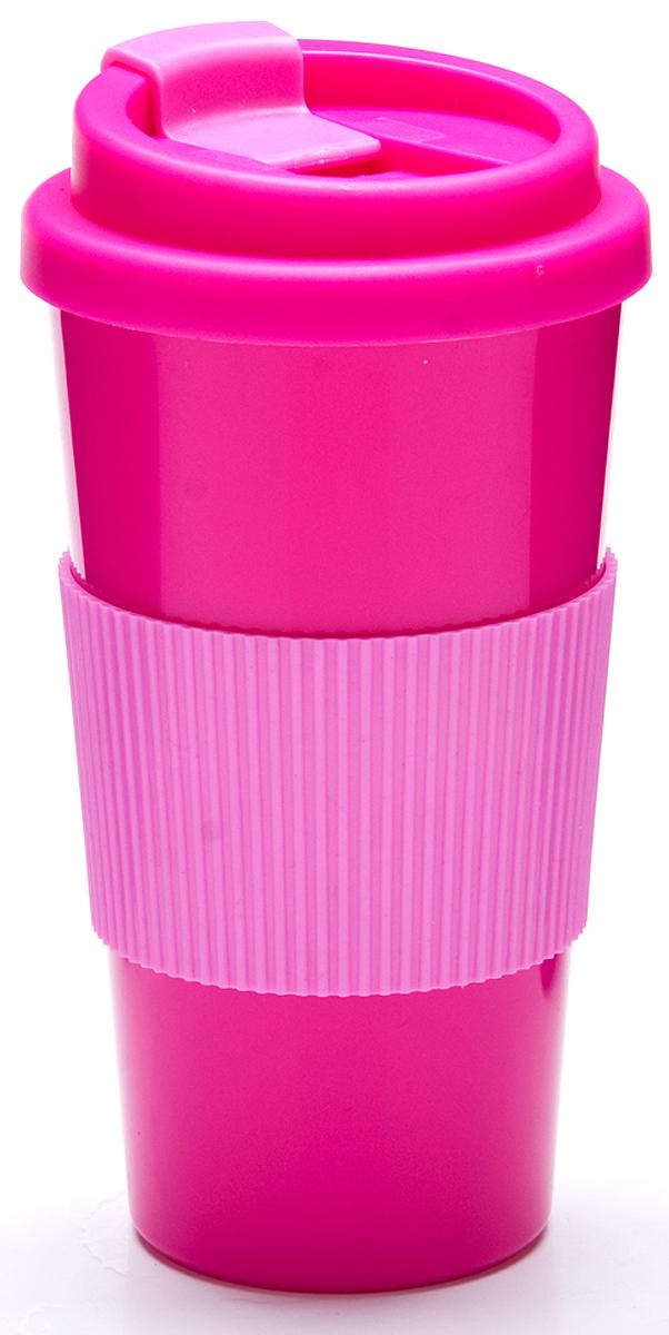 Фляга Mayer & Boch, цвет: розовый, 520 мл. 27095