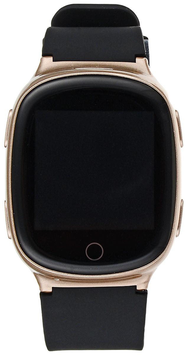 TipTop 700s ВЗР, Gold детские часы-телефон528Умные часы-телефон TipTop 700s ВЗР с GPS-трекером созданы специально для тех, кто вам дорог. Универсальный стильных дизайн часов понравится и как подросткам, и так и пожилым людям. С ними вы всегда будете знать, где находится близкий вам человек и что с ним происходит.Управление часами происходит полностью через мобильное приложение, которое можно бесплатно скачать на AppStore или PlayMarket. Основные функции:С помощью мобильного приложения на карте в режиме онлайн видно, где находится близкий вам человек.В часы вставляется SIM-карта (с задней стороны часов, где указан REG code). Вы всегда можете позвонить на часы, также носитель часов может совершать вызовы на важные номера (до 10 номеров). Вы можете слушать, что происходит рядом с теми, кто вам особенно дорог. На часах есть кнопка SOS - в случае опасности необходимо нажать на эту кнопку и часы автоматически дозваниваются близким - кто быстрее ответит. Также высылают сообщения с координатами владельца часов.На мобильный телефон приходят уведомления, если часы разряжаются, выход из установленной гео-зоны (электронного забора).Фитнес-трекер - шагомер, пройденное расстояние, качество сна, потраченное количество калорий.Будильник, установка даты и времени, а также другие полезные для носителя функции.Особенные функции данной модели – сенсорный дисплей, датчик мониторинга сердечного ритма, датчик падения, вибро режим! Датчик снятия с руки отсутствует. TipTop 700s ВЗР могут применяться также для сотрудников/курьеров, месторасположение которых вам необходимо знать, или работа которых предполагает большую степень риска. Умные часы-телефон TipTop с GPS стоят на защите жизни и здоровья ваших близких.