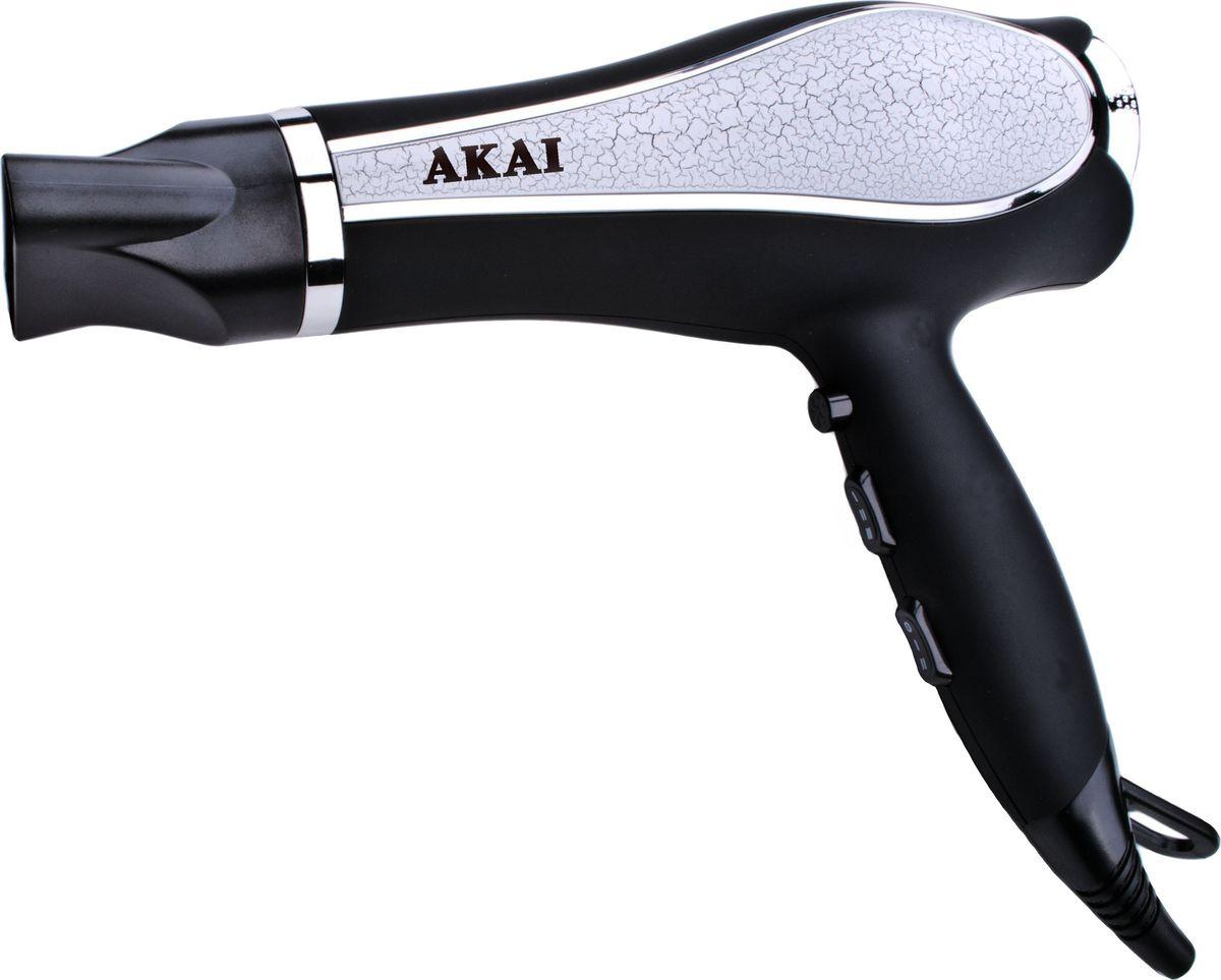 Akai HD 1702 В, Silver Black фен akai hd 151r