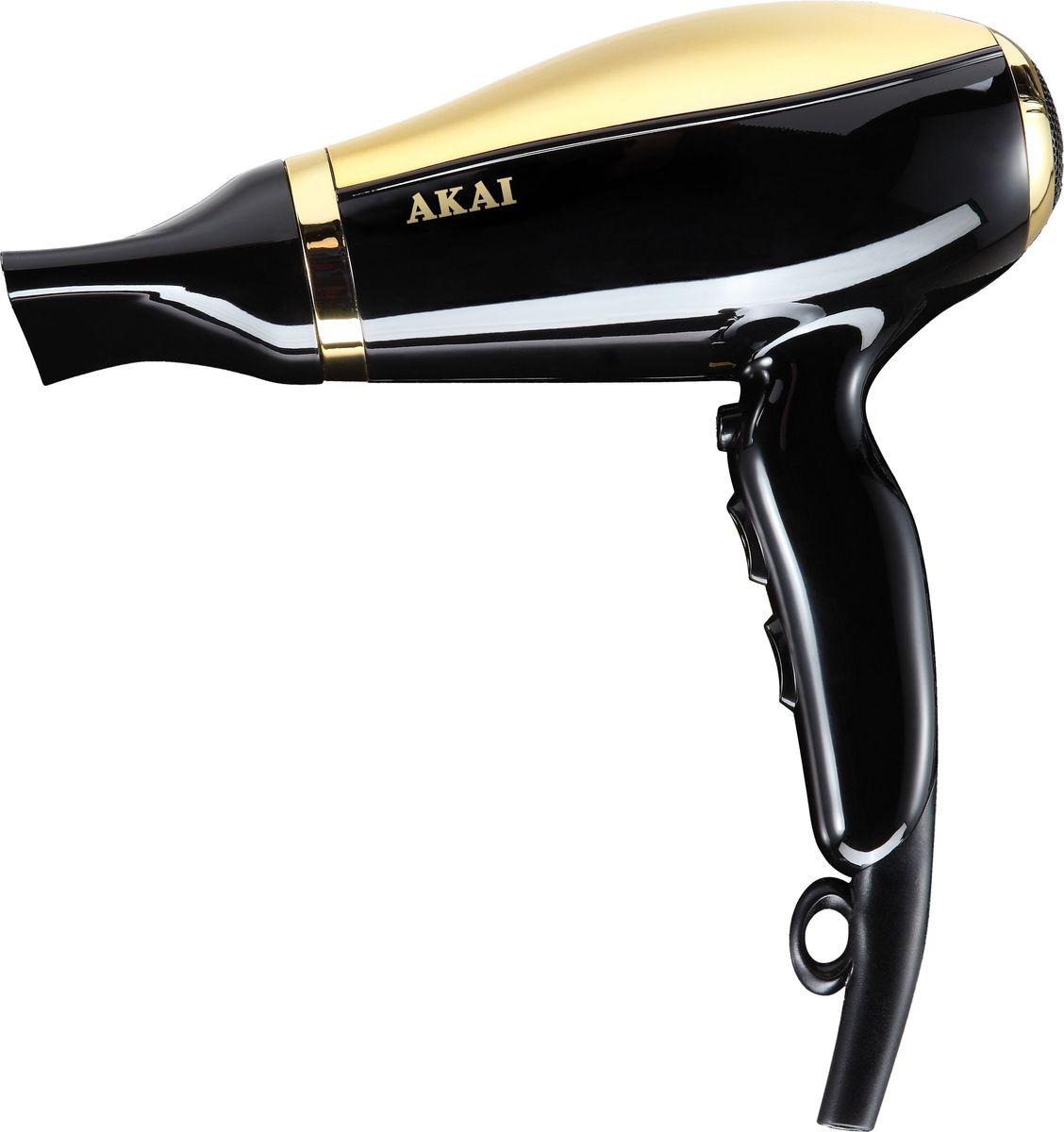 Akai HD 1703 В, Black Gold фен akai hd 151r