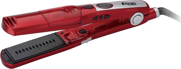 Eltron 1913 EL, Red выпрямитель для волос1913ELФ.щипцы д/выпр.волос 1913 Еltron(х12) Паровой выпрямитель для волос с керамическим покрытием.Турмалиновое керамическое покрытие, которое не позволяет пересушить волосы. Выдвигающийся гребень с настройкой парамеиров.Водный резервуар для производства пара.Регулятор уровня пара: Высокий, Средней, Выключен.Переменные параметры нагрева: 120-200 С+/- 20С. 30 секунд для разогрева Светодиодный дисплей температуры Входное напряжение 220-240В 50Гц 65 Вт