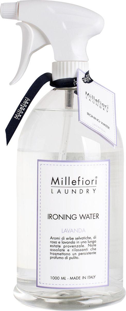 Парфюмированная вода Millefiori Milano  Лаванда / Lavanda , для отглаживания белья, 1 л -  Бытовая химия