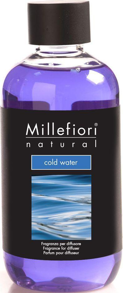 Сменный флакон для диффузора Millefiori Milano Холодная вода / Cold Water, 250 мл сменный флакон для диффузора millefiori milano ягодный восторг berry delight 250 мл