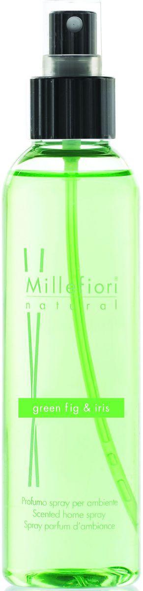 Духи-спрей для дома Millefiori Milano Зеленый инжир и ирис / Green Fig & Iris, 150 мл7SRGIЭлегантный аромат, отличающийся теплыми и нежными акцентами фиолетовых и зеленых нот. Его сердце раскрывается в сочетании зеленого инжира и ириса и сливается с гармонией кашемирового леса, сандалового дерева и оттенка кофе.Верхние ноты: Фиалка, Сочные Зеленые Листья Средние ноты: Зеленый Инжир, Ирис Базовые ноты: Кашемировое дерево, Сандаловое дерево, Кофе
