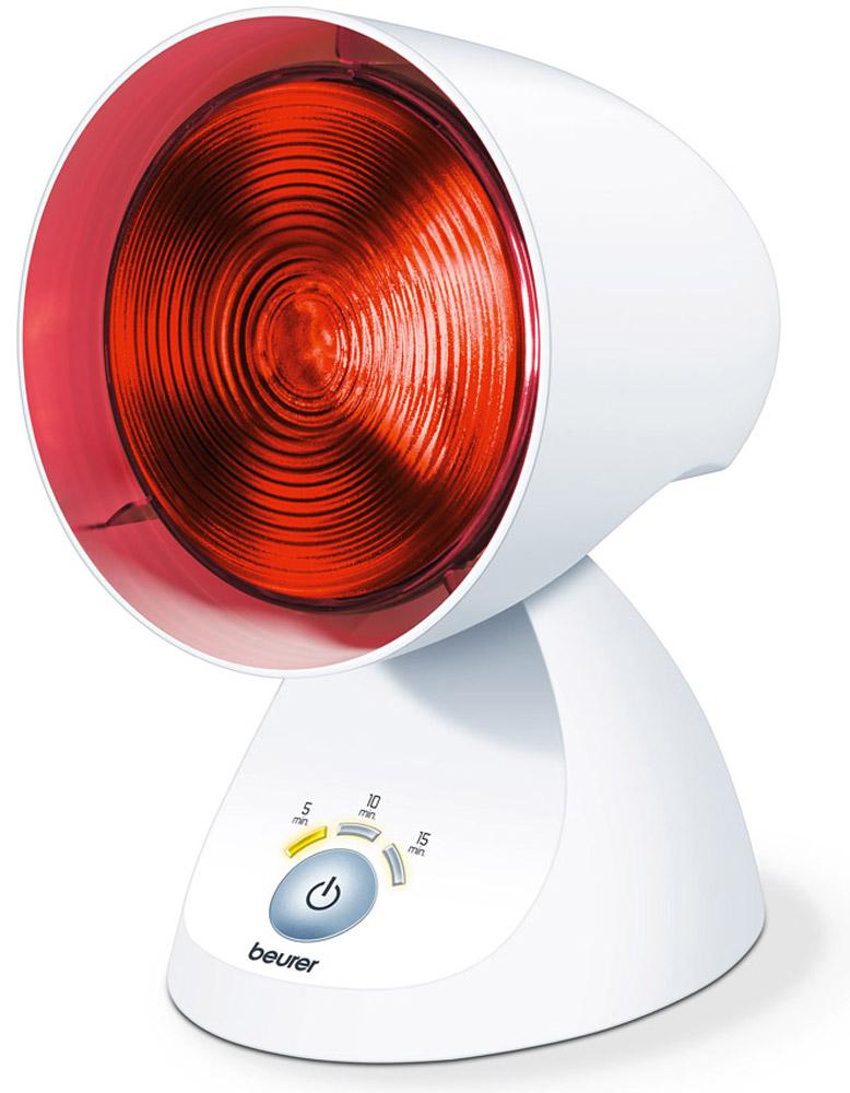 Beurer Прибор инфракрасного излучения IL353971Особенности:- Приятное тепло- Колба из прессованного стекла- 3-уровневый электронный таймер со светодиодным индикатором- Функция отключения по истечении установленного времени таймера- Эксклюзивный дизайн- Регулируемый козырек: 5 наклонных положения150 Вт Технические характеристики:Мощность в ваттах: 150Ступени наклона: 5Колба из прессованного стекла: да