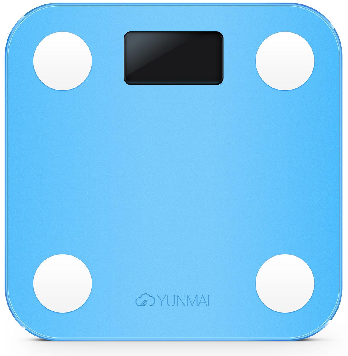 Yunmai Mini, Blue весы напольные - Напольные весы