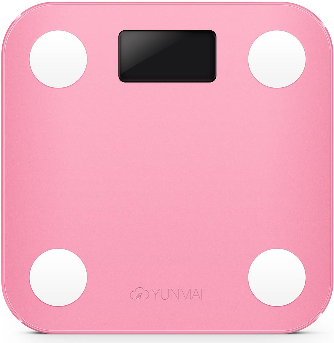 Yunmai Mini, Pink весы напольные - Напольные весы
