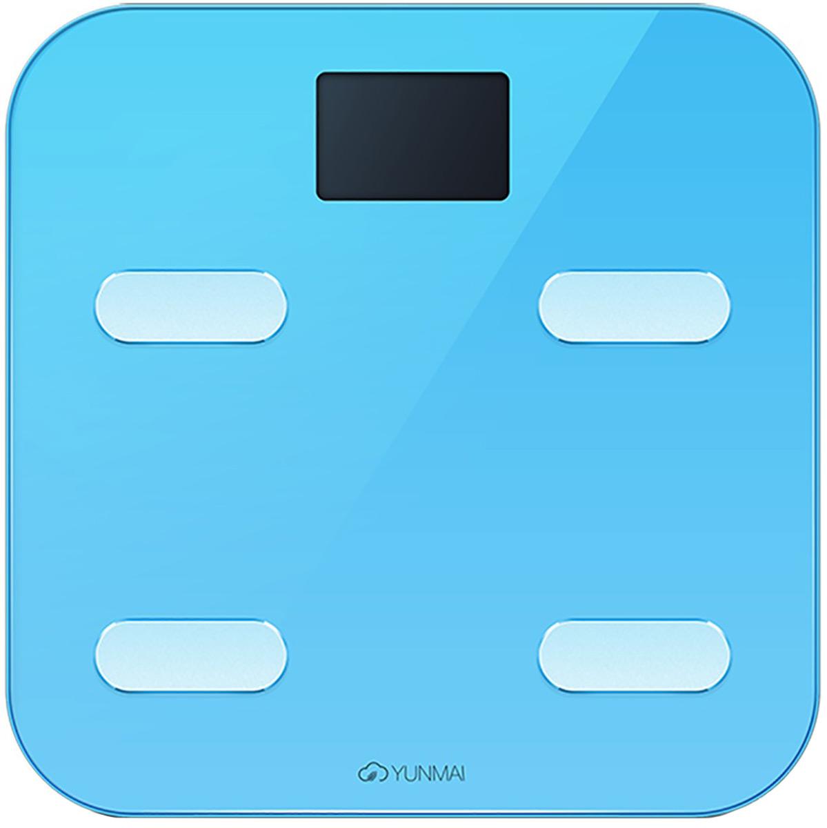 Yunmai Color, Blue весы напольные - Напольные весы