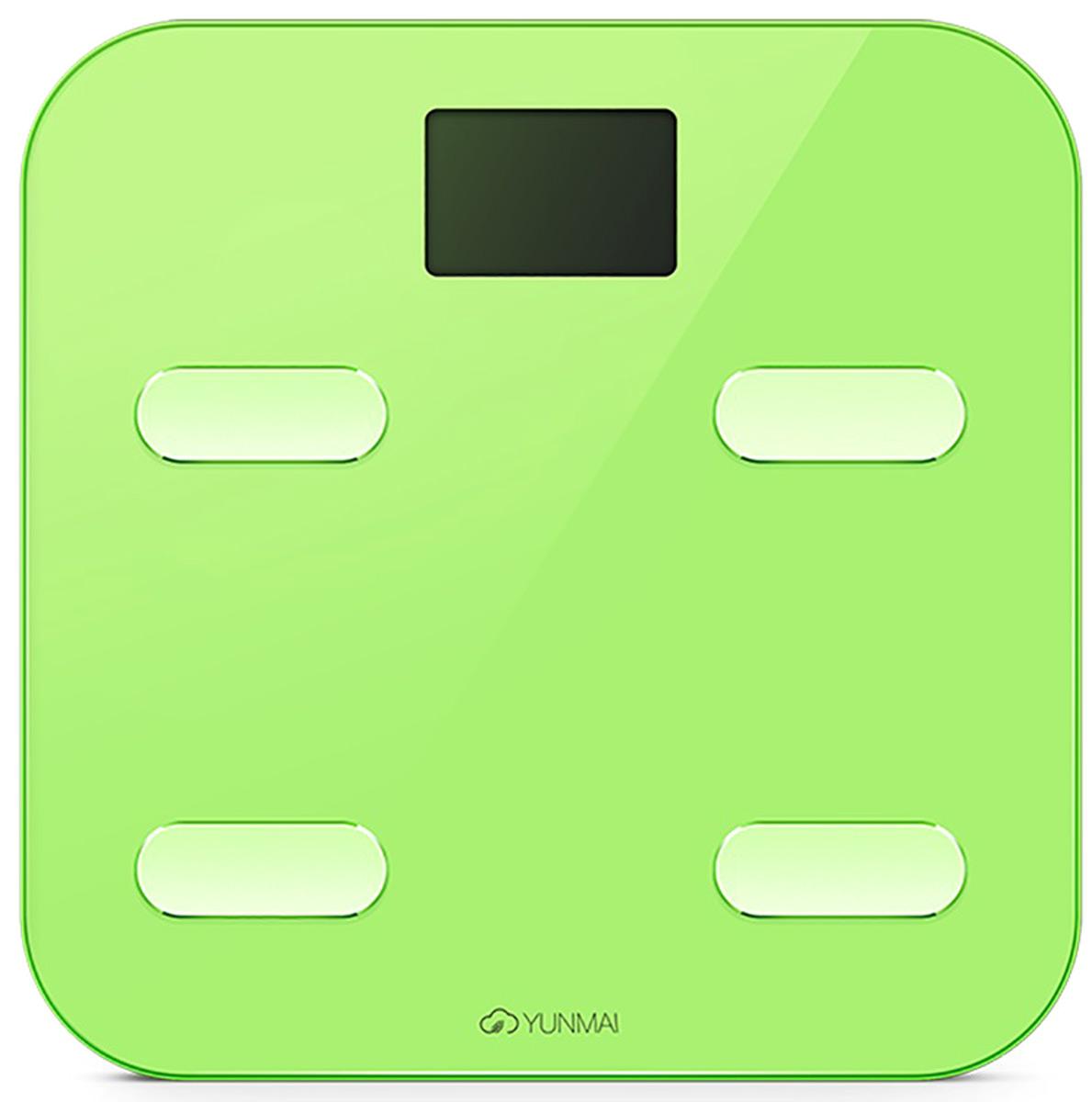 Yunmai Color, Green весы напольныеM1302greenКомпания Yunmai является лидером рынка умных весов в США и активно развивается на европейском, африканском и азиатском рынках.Компания Yunmai фокусируется на создании интеллектуальных устройств в рамках заботы о здоровье для домашнего использования. Yunmai использует накопленные знания в области интеллектуальных инноваций и успешно интегрирует их в свое производство.Умные весы Yunmai не только точно измеряют вес, но также применяют метод биоэлектрического сопротивления (BIA) для измерения ИМТ, мышечной массы, массы костей, воды, обмена веществ, возраста тела, висцерального жира, белка и т. д. Анализ показателей помогает понять общее состояние организма и помогает в организации диеты и образа жизни. Yunmai - это умная забота о здоровье для каждого. Yunmai Color - отличная функциональность в стильном, ярком корпусе с поверхностью из закаленного стекла и увеличенной поверхностью весов. Yunmai color — умные весы для тех, кто не ищет компромиссы.