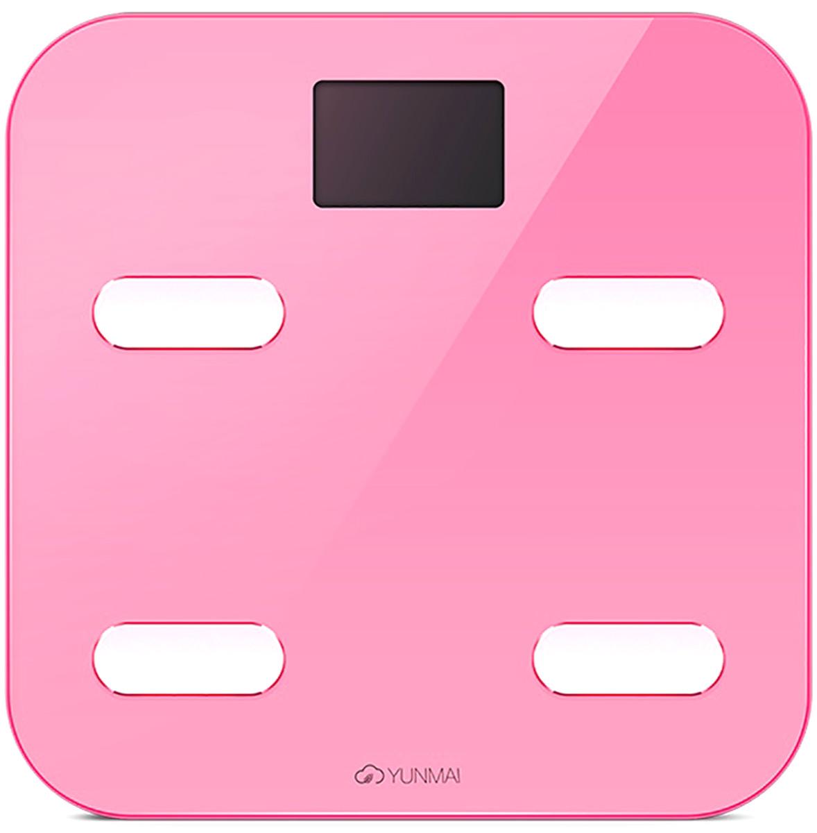 Yunmai Color, Pink весы напольные - Напольные весы