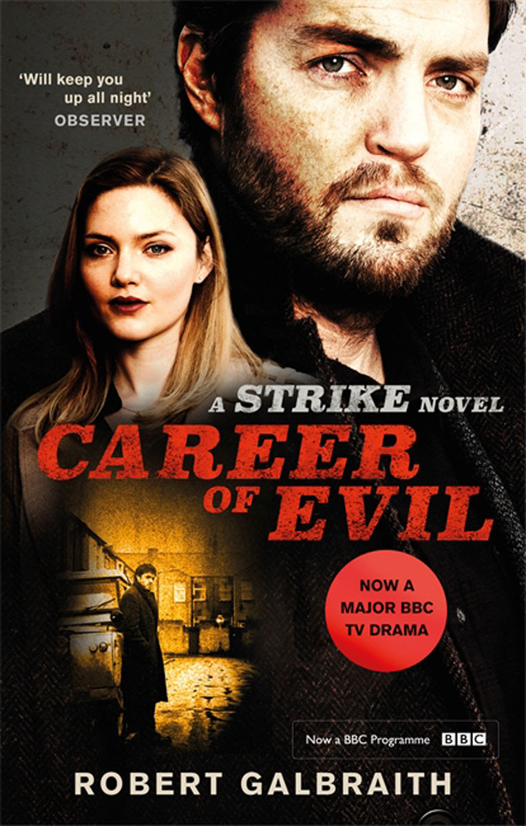 Career of Evil TV tie-in