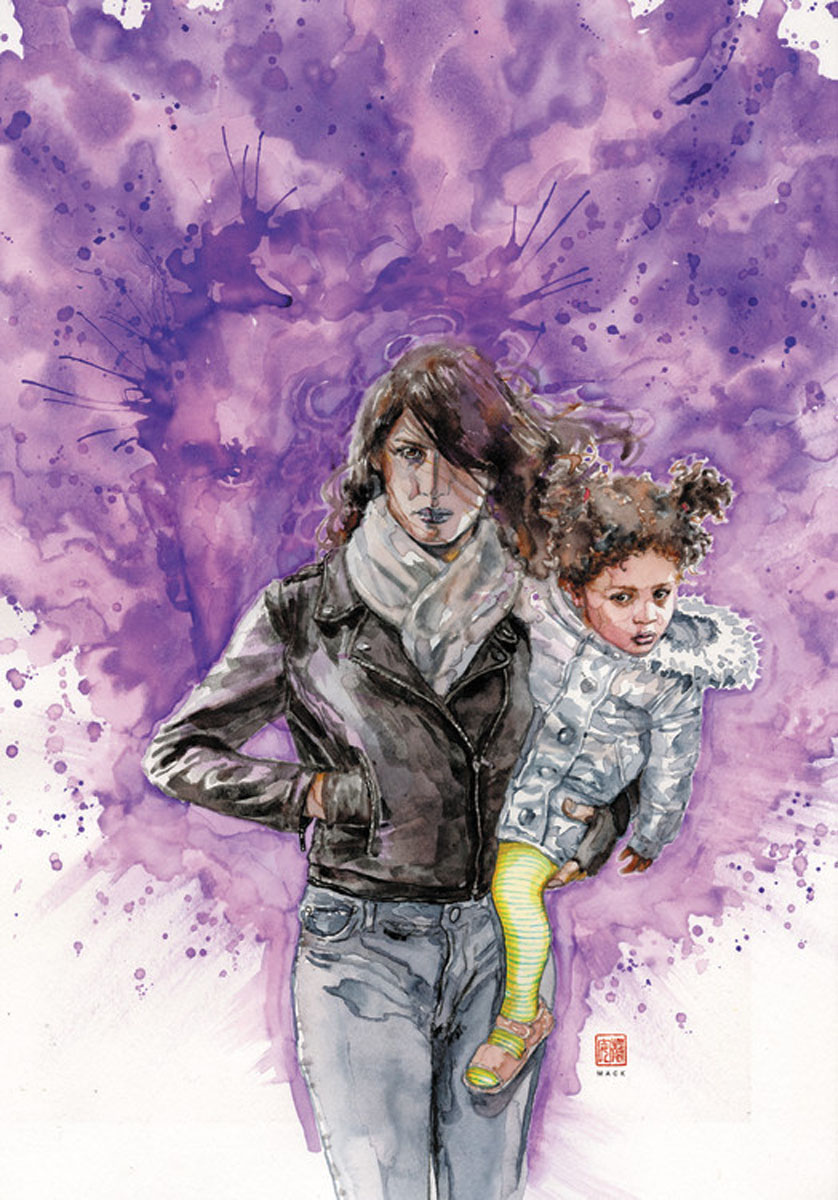 Jessica Jones Vol. 3: Return of the Purple Man flowers of evil vol 3