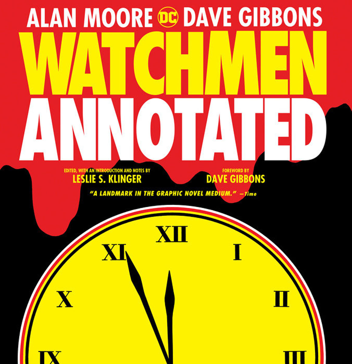 Watchmen: The Annotated Edition karin kukkonen studying comics and graphic novels