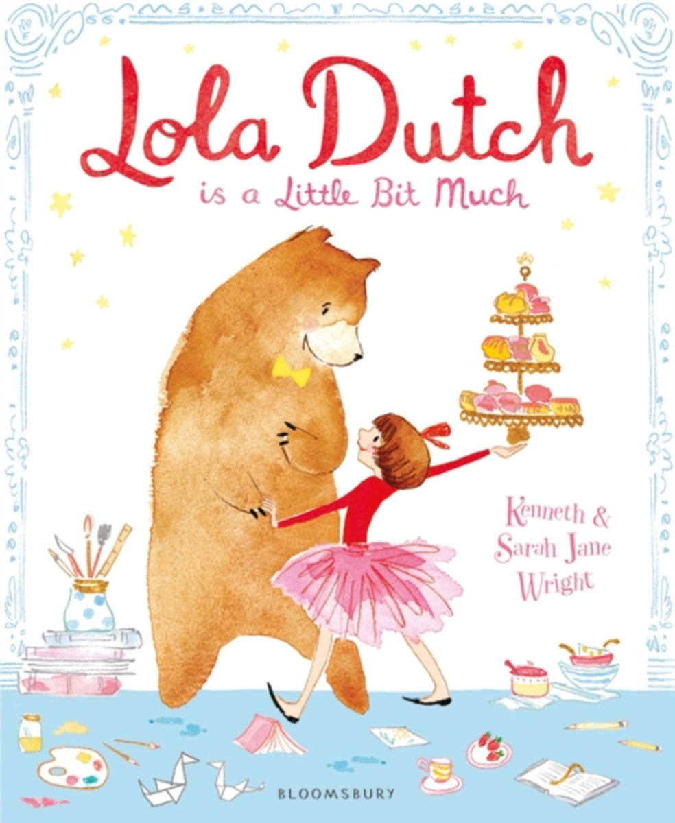 Lola Dutch bob the bursting bear