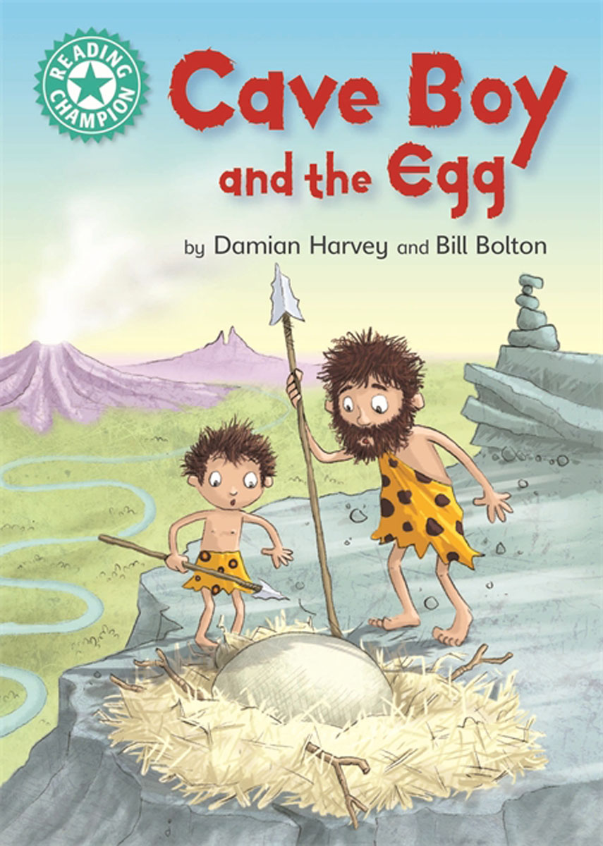 Reading Champion: Cave Boy and the Egg chilton h edwards l practise it smash it reading