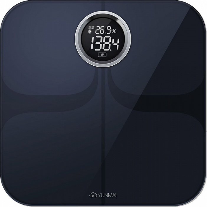 Yunmai Premium, Black весы напольные - Напольные весы