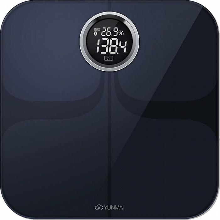 Yunmai Premium, Black весы напольные
