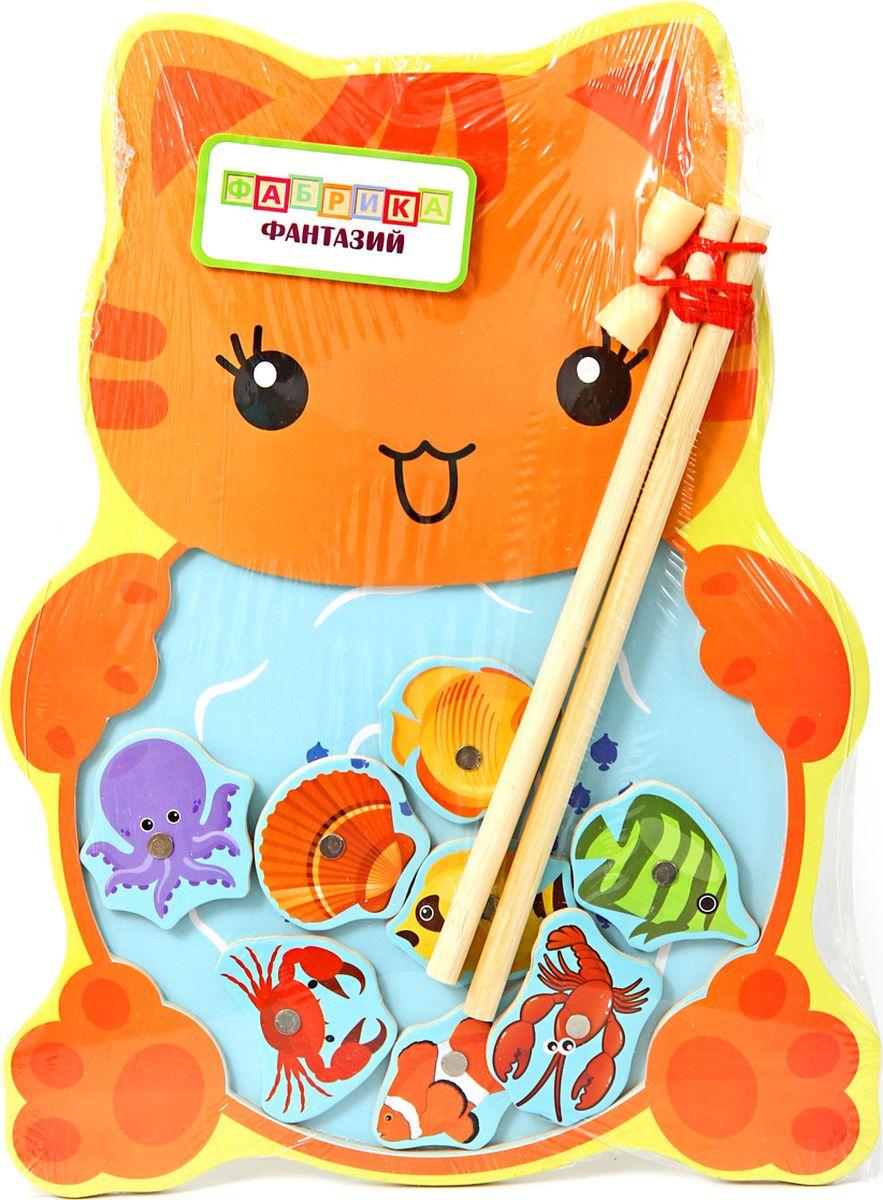 Фабрика Фантазий Развивающая игрушка Веселая рыбалка игрушка фабрика фантазий рыбалка деревянная в ассортименте
