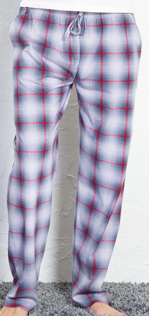 Брюки для дома мужские Vienettas Secret, цвет: темно-серый. 710167 3284. Размер L (48)710167 3284Домашние брюки от Vienettas Secret выполнены из натурального хлопка. Модель свободного кроя с эластичной резинкой на талии и регулируемым шнурком.