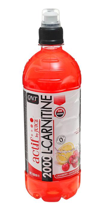 QNT 2000 L-карнитин, Клюква/лимон, 700 мл креатины qnt креатин creatine monohydrate 100